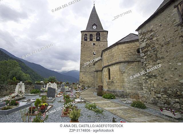 San Julian de Garos church Aran valley Catalunya Spain