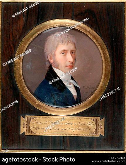 Don Pedro Alcantara Álvarez de Toledo y Salm Salm, Duke of the Infantado (1768-1841), 1806. Creator: Nickel, Franz (1783-1845)