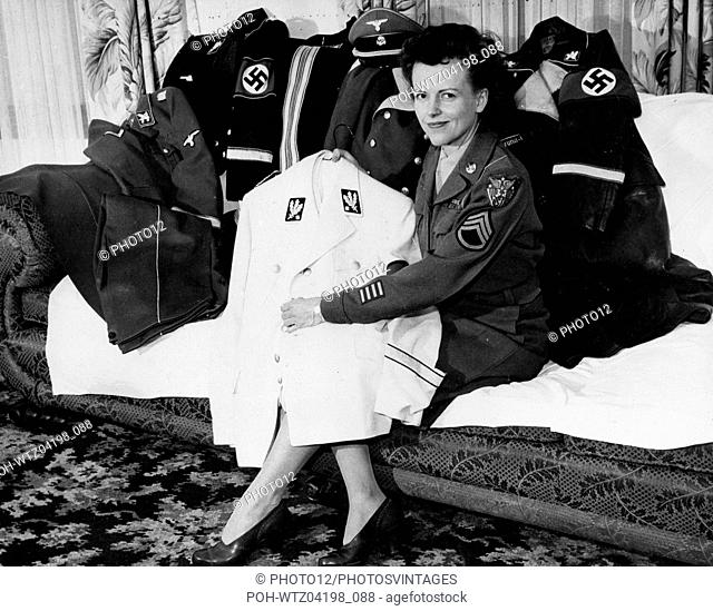 Military outfits which belonged to German politician von Ribbentrop