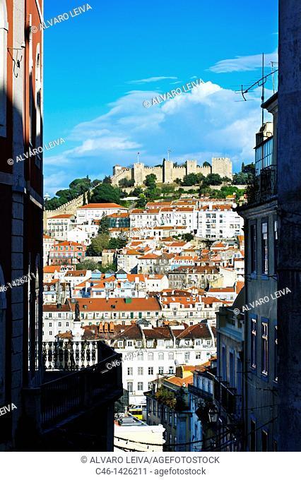 Castelo de São Jorge, Alfama district, Lisbon, Portugal