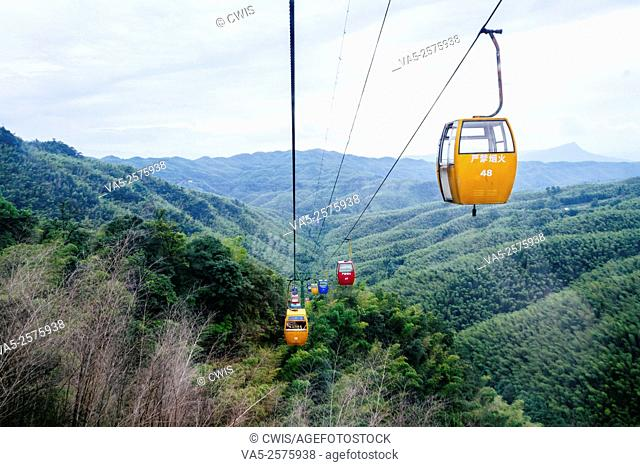 Yibin, Sichuan province, China - Beautiful view at Shunan Bamboo Sea national park
