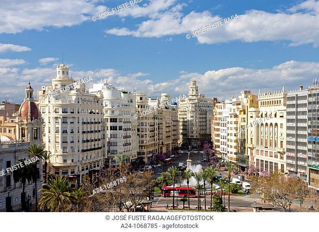 City Hall Square, Valencia, Spain