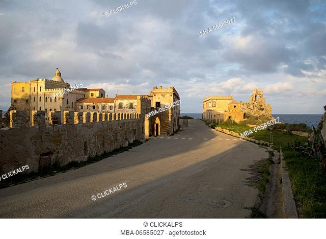 Pianosa island, Tuscan Archipelago National Park, Tuscany, Italy, the old Teglia castle