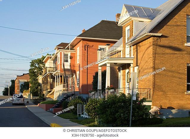 Riviere-du-Loup, Bas-Saint-Laurent region, Quebec province, Canada, North America