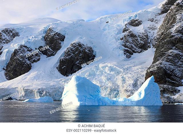 Iceberg in Lemaire Chanel Antarctica