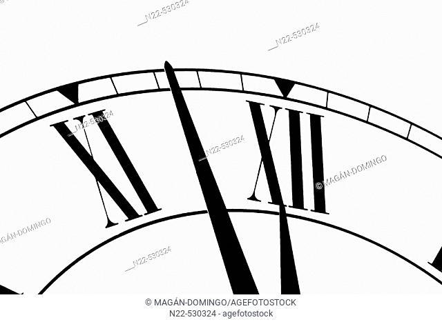 Clock. Time