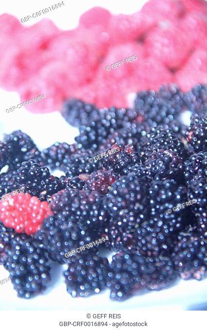 Blackberry, raspberry, fruit, São Paulo, Brazil