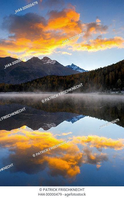 Lej da Staz, Ober Engadin, Graubünden, Schweiz