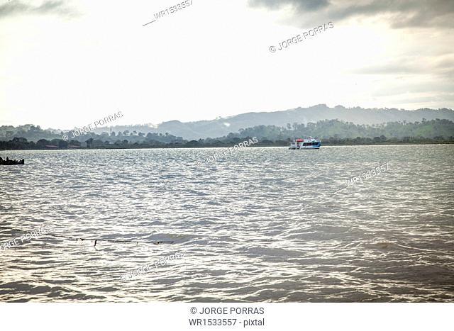 Landscape of Necocli, Uraba, Antioquia, Colombia