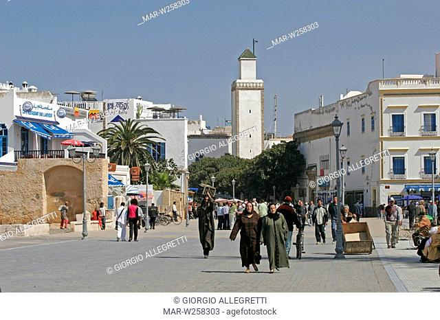 africa, morocco, essaouira, medina entrance