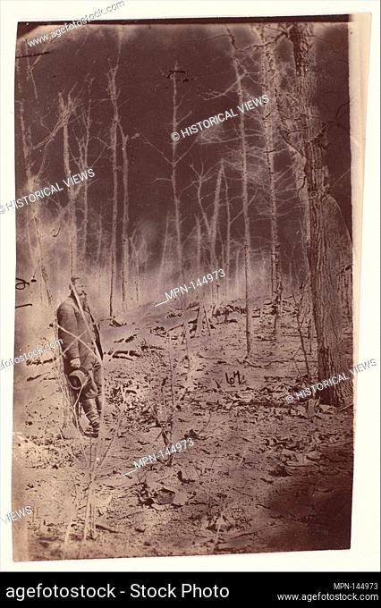 [The Wilderness Battlefield, near Spotsylvania, Virginia]. Artist: Unknown; Date: 1865 (?); Medium: Albumen silver print from glass negative; Dimensions: 12