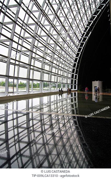 China, Beijing, National Grand Theatre, Interior, Paul Andreu Architect