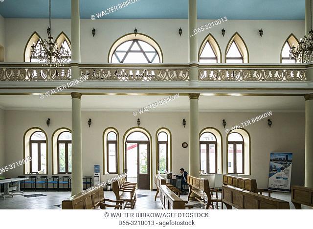 Georgia, Batumi, Batumi Synagogue, built 1904, interior