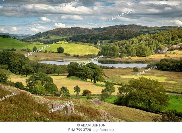 Little Langdale Valley in the Lake District National Park, UNESCO World Heritage Site, Cumbria, England, United Kingdom, Europe