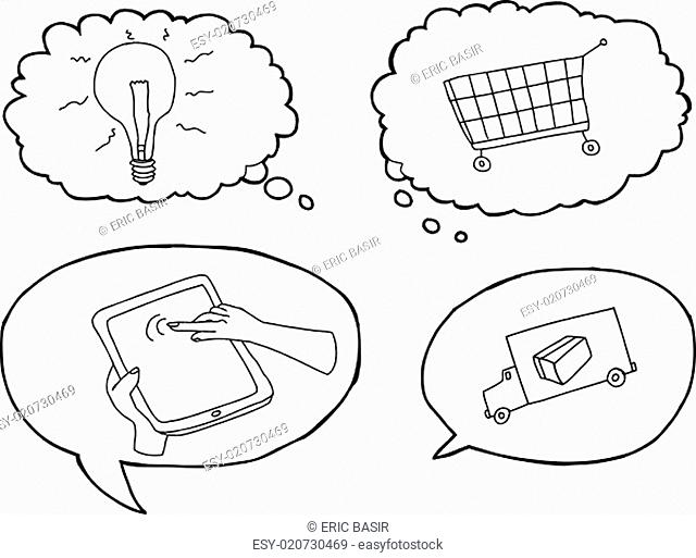 E Commerce Process Stock Photos And Images