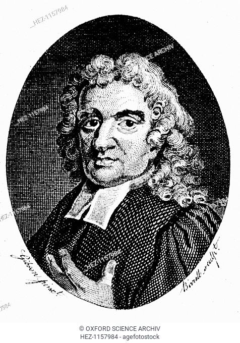 John Flamsteed, English astronomer and clergyman, 1794. Born in Denby, Derbyshire, and educated at Cambridge, Flamsteed (1646-1719) was appointed the first...