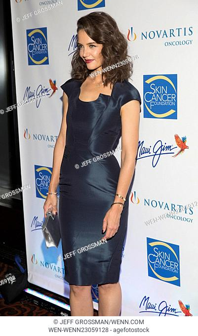 The 2015 Skin Cancer Foundation Gala at Mandarin Oriental New York - Arrivals Featuring: Katie Holmes Where: New York, New York