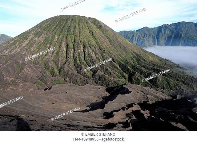 Asia, Indonesia, Java, Bromo, Batok, Kursi, Bromo Tengger Semeru, Bromo, Tengger, Semeru, national park, volcano, volcanism, volcanical, crater