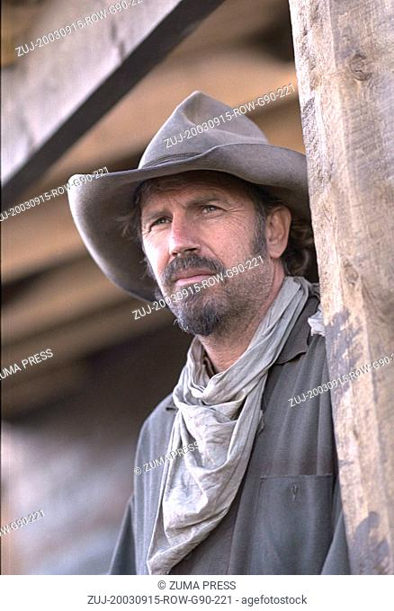 Sep 15, 2003; Alberta,Canada; Actor KEVIN COSTNER as Charley Waite in 'Open Range.'  (Credit Image: © Courtesy of Touchstone Pictures/Entertainment...