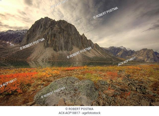 Talus Lake, Tombstone Territorial Park, Yukon, Canada