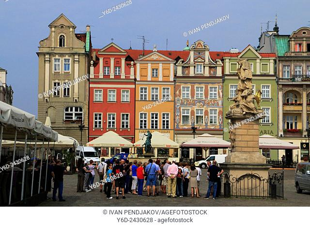 Old Town of Poznan, Poland