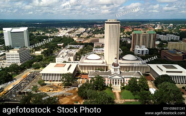 The capital city of Tallahassee Florida holds the government office building shown here