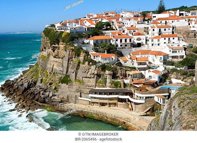 Natural pool, Azenhas do Mar, Lisbon Coast, Portugal, Europe