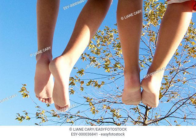 relaxing legs