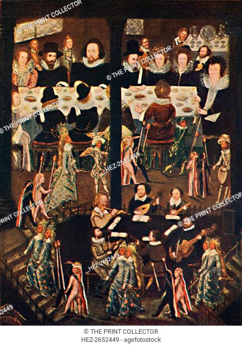 'Marriage Feast of Sir Henry Unton', c1596, (1903). From the collection of the National Portrait Gallery, London. From Social England, Volume III, edited by H