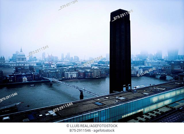 Cityscape, London, England