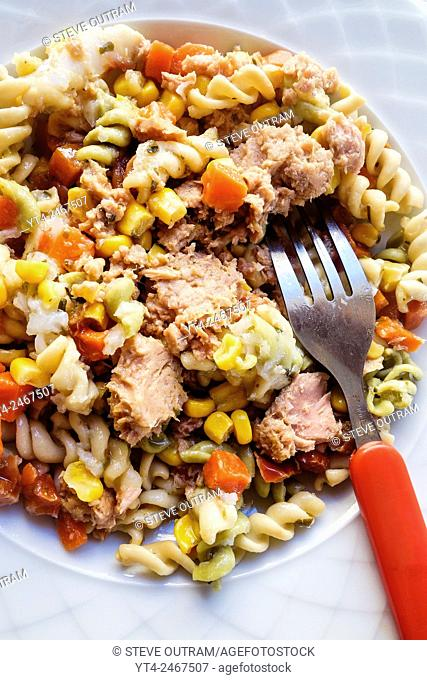 Italian Tuna and Pasta Salad