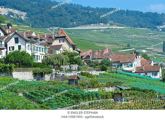 Riex in the canton of Vaud