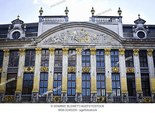 Facade of the House of the Dukes of Brabant