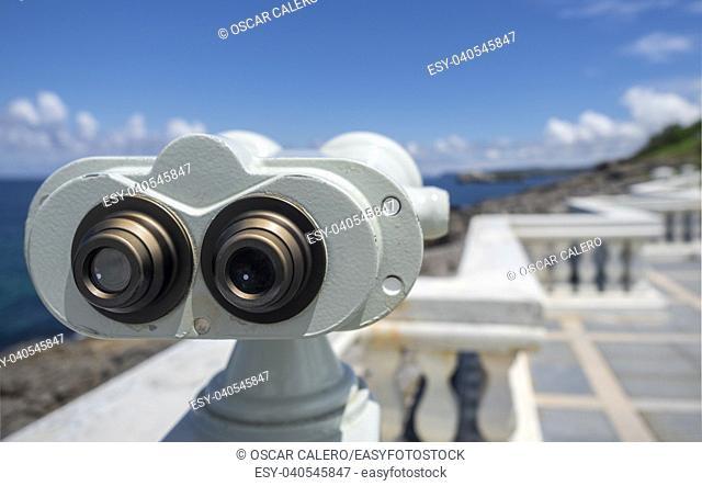 Big binoculars at Santander
