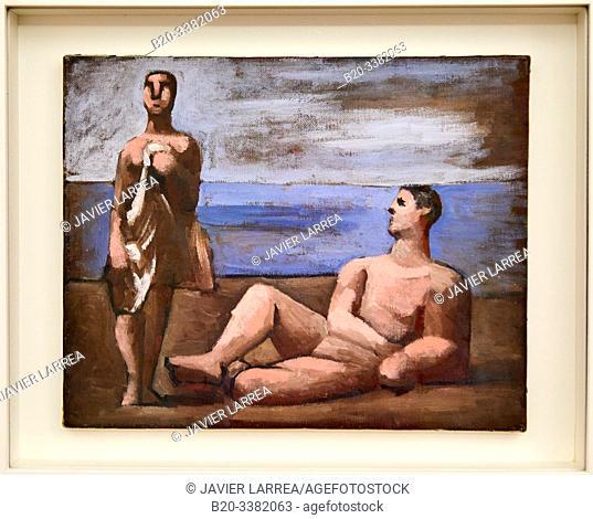 """""""Deux Baigneurs"""", 1921, Pablo Picasso, Picasso Museum, Paris, France, Europe"""