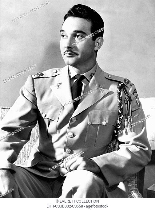 Lieut. Gen. Rafael Leonidas Trujillo, at the U.S. Army Command College at Fort Leavenworth. Oct. 25, 1957. He was the 28 year old son of Dominican Republic...