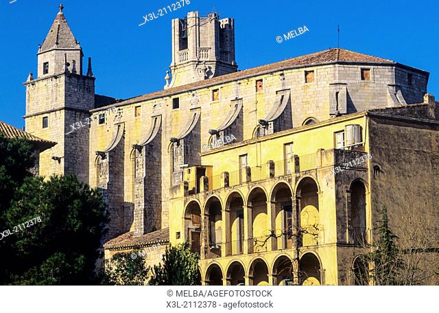 Torroella de Montgri church. Gerona. Catalunaya. Spain