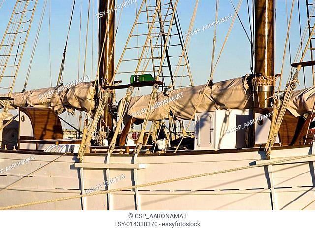 old sailor boat