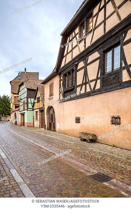 Kientzheim, Haut-Rhin, Alsace, France, Europe