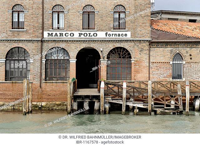 Island isola Murano, with the Canale Grande di Murano and the Canale di San Donato near Venice, Venezia, Italy, Europe