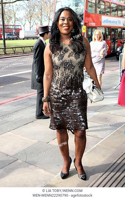 The Tric Awards 2015 Featuring: Tessa Sanderson Where: London, United Kingdom When: 10 Mar 2015 Credit: Lia Toby/WENN.com