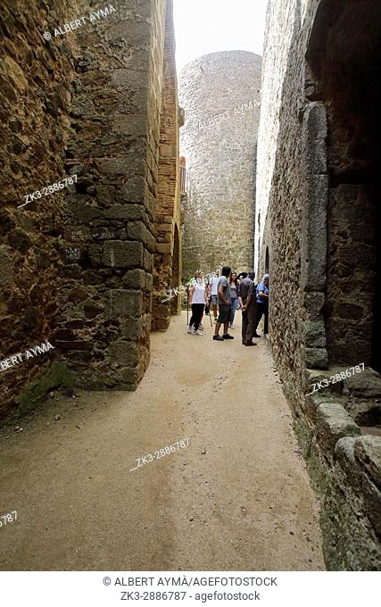 Montsoriu Castle. Catalonia. Spain