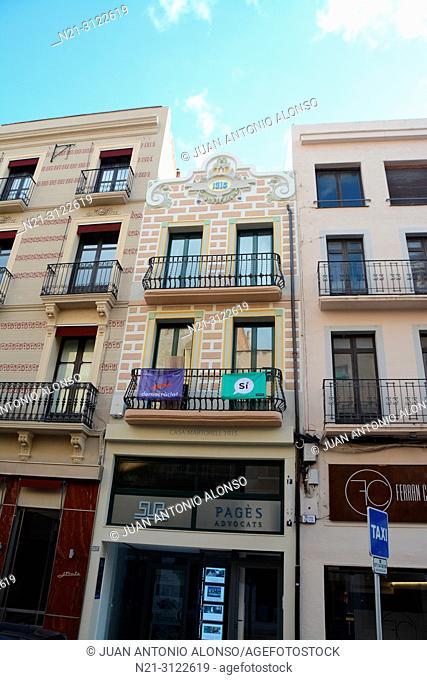 Modernisme in Reus, Tarragona, Catalonia, Spain, Europe