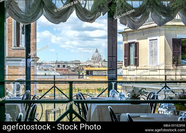 A view of Rome, Lazio, Italy