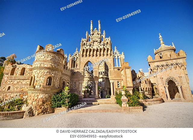 Castle monument of Colomares. Is a monument honoring Cristopher Colombus and the discovery of America. Was built between 1987 and 1994 and It is a combination...