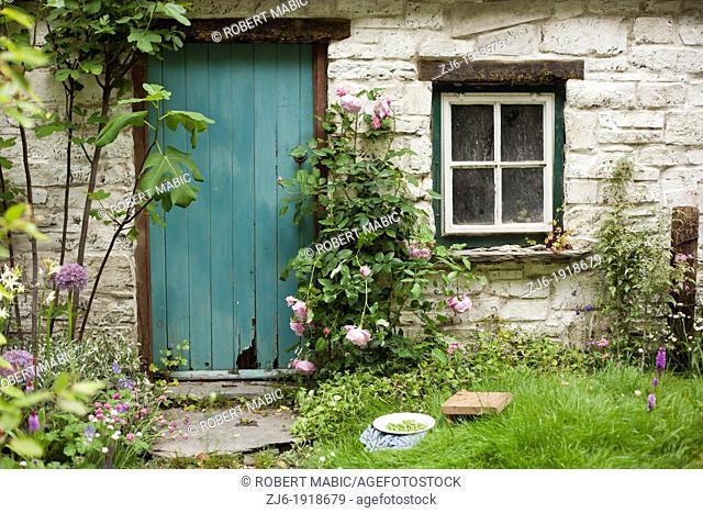 Stone cottage, London England