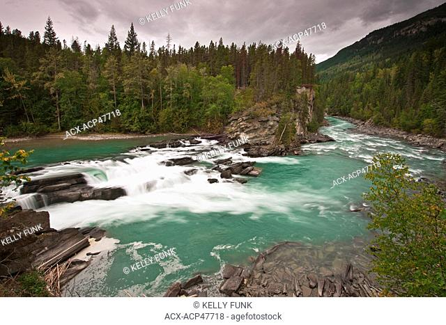 Rearguard Falls, in the Northern tip of the Thompson Okanagan region of British Columbia, Canada