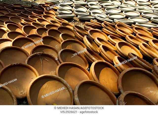 Pottery is the art of earth ware making. The history of Bangladeshi pottery is as ancient as it is illustrious, dating as far back as the Mohenjodaro and...