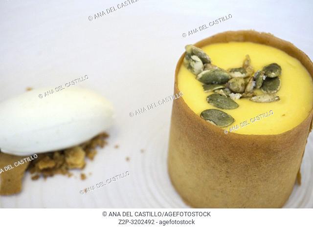 Homemade Pumpkin Mousse / Thanksgiving Dessert,