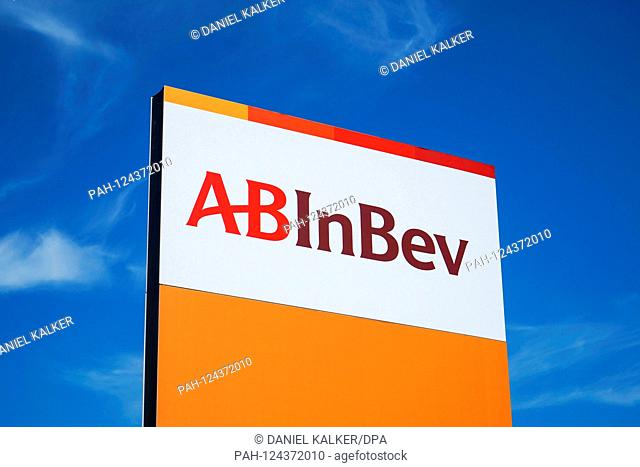 Belgium: Headquaters of multinational drink and brewing holdings company Anheuser-Busch InBev (AB InBev) in Leuven..Photo from August 25th